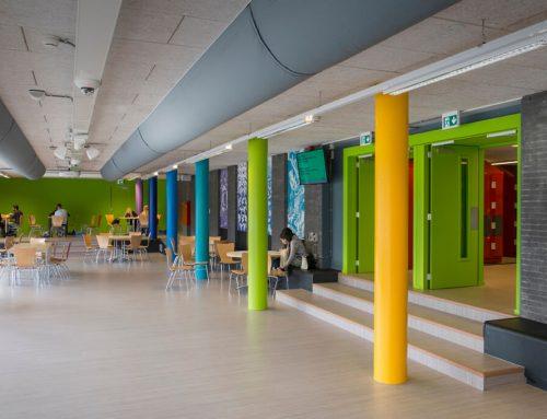 Transformatie tot aularuimte Develsteincollege Zwijndrecht