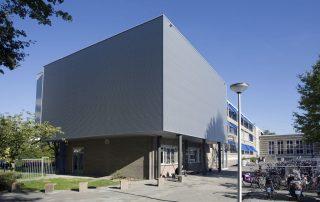 Multifunctionele ruimte Kunstblik Da Vinci College Leiden - Topos