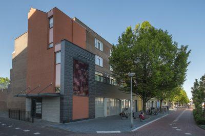 Gevel renovatie Lenteakkers Spijkenisse - Topos
