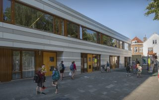 Nieuwbouw Willemsparkschool Den Haag - Topos