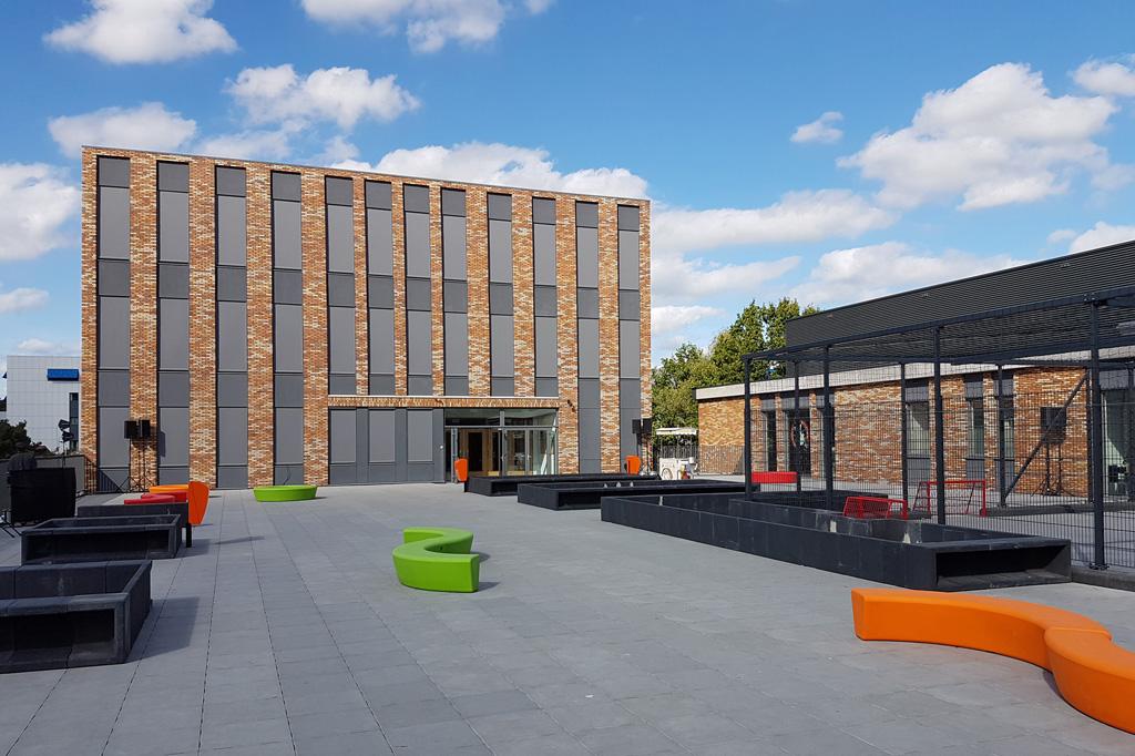 Bouwmanagament Driestar College en sportzalen - Topos