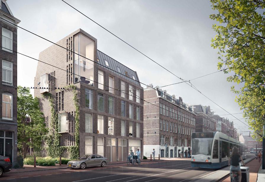 Engineering woongebouwen Groenmarkt Amsterdam - Topos
