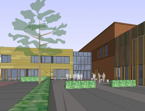 In ontwikkeling: Nieuwbouw Bouwacademie Groene Hart Waddinxveen