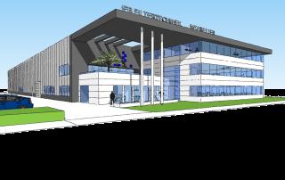 Nieuwbouw bedrijfsgebouw IFB Brielle - Topos