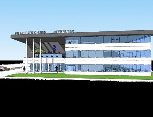 In ontwikkeling: Nieuwbouw bedrijfsgebouw IFB Filtertechniek Brielle