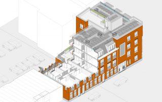 Engineering Snellemanstraat / Vletstraat - Topos
