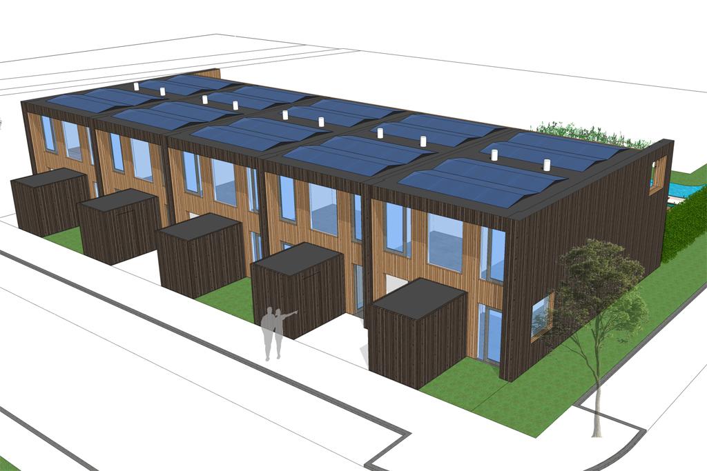 Eco-woningen Reeuwijk - Topos