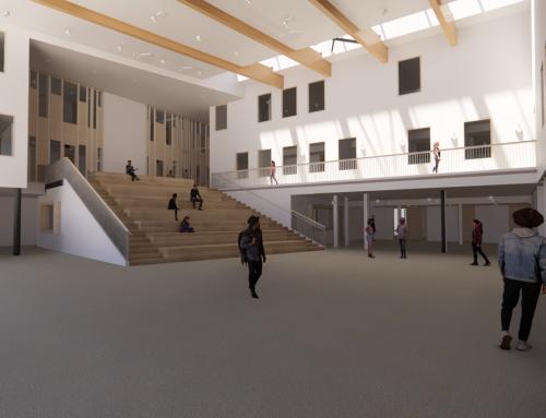 In ontwikkeling: Nieuwbouw Scala College Alphen aan den Rijn