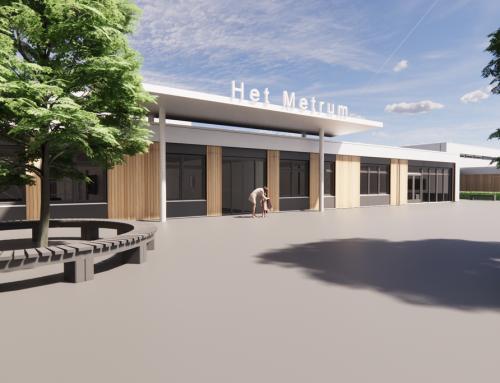 In ontwikkeling: Renovatie en uitbreiding Praktijkcollege Het Metrum Leiden