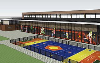 Circulair ontwerp nieuwe sporthal Waddinxveen | Topos