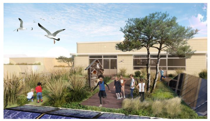 Nieuwbouw brede school Noordwijk aan Zee | Topos